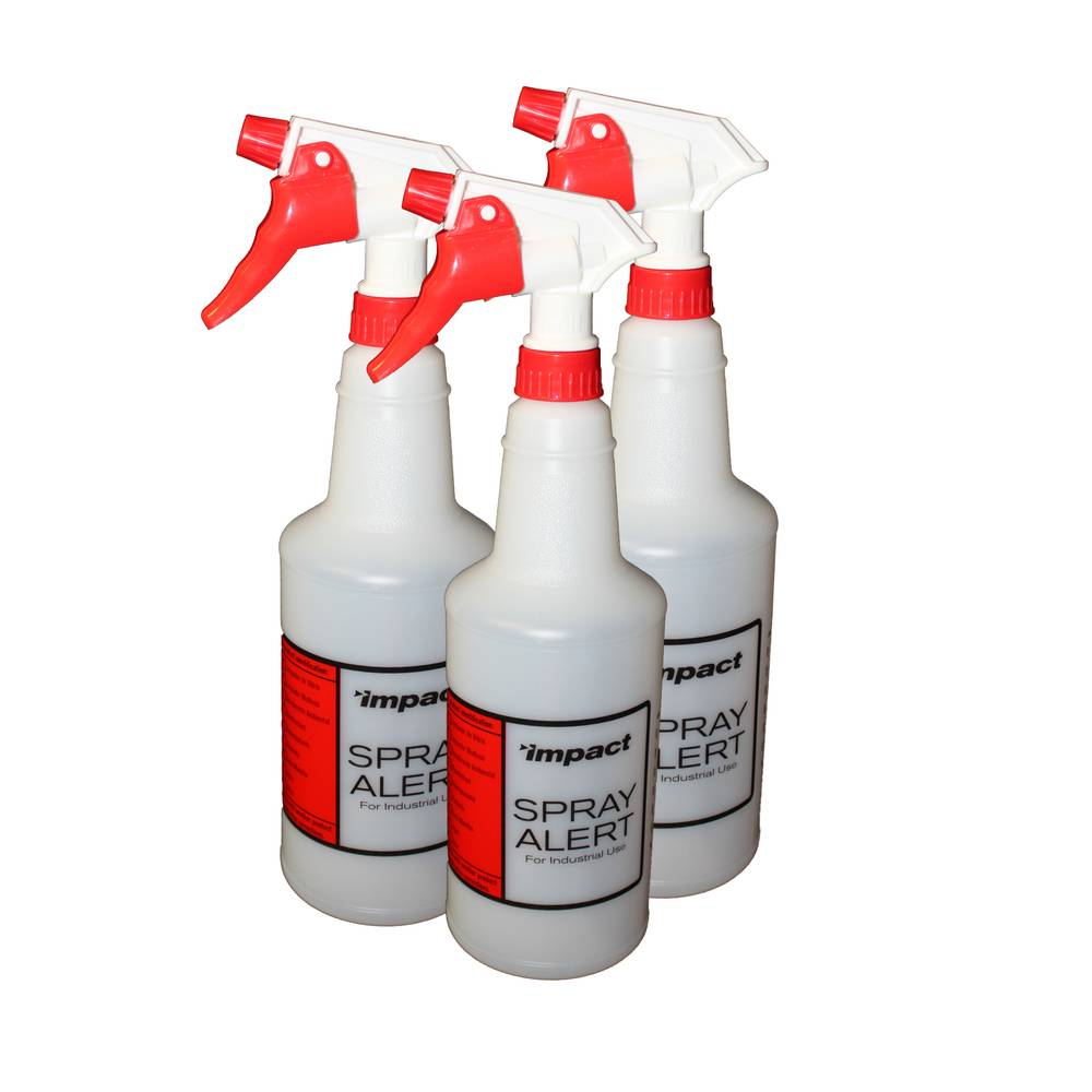 BOTTLE SPRAY 32oz W/TRIGGER 3/PACK