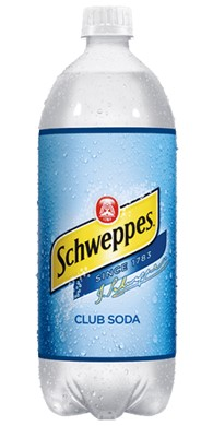 CLUB SODA SCHWEPPES 15/1 LTR